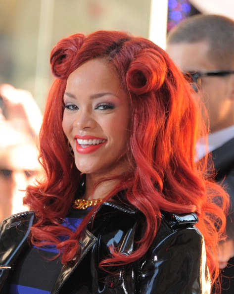 "Redhead「Rihanna Performs On NBC's ""Today"" - May 27, 2011」:写真・画像(9)[壁紙.com]"