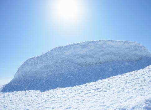 Snowdrift「Snow drift」:スマホ壁紙(7)