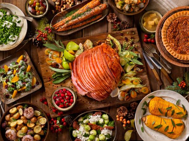 Holiday Spiral Ham Dinner:スマホ壁紙(壁紙.com)
