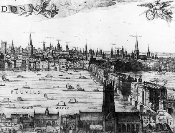 17th Century「Old London Bridge」:写真・画像(1)[壁紙.com]