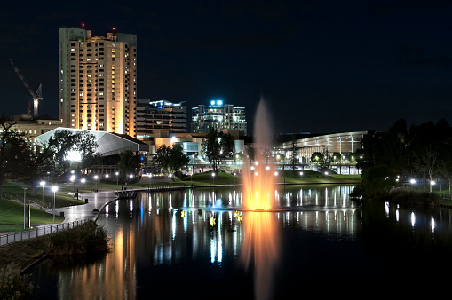 Adelaide「Adelaide Waterfront at Night」:スマホ壁紙(8)