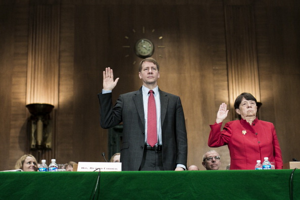 Finance「Senate Banking Committee Holds Hearing On Nominations Of Cordray And Mary Jo White」:写真・画像(2)[壁紙.com]