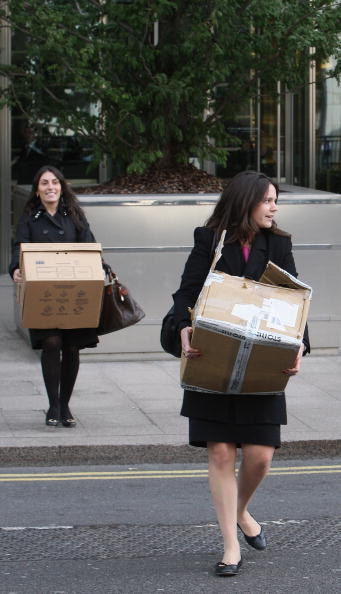 Downsizing - Unemployment「Lehman Brothers UK Business Placed Into Administration」:写真・画像(12)[壁紙.com]