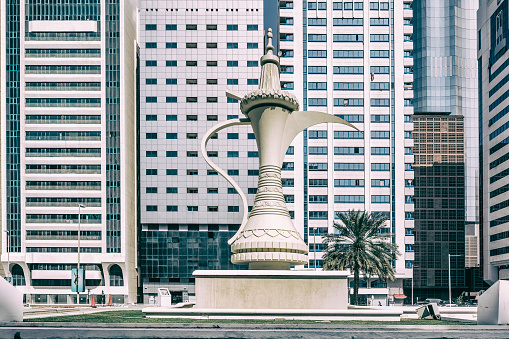 Teapot「Al-Ittihad Square, sculpture of a Dallah」:スマホ壁紙(11)