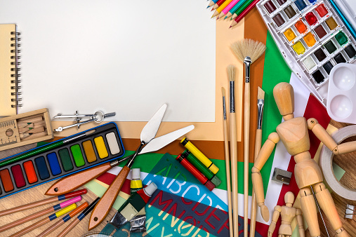 Art And Craft「School art materials」:スマホ壁紙(10)