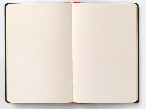 Letter「空白のページで本を開く」:スマホ壁紙(9)