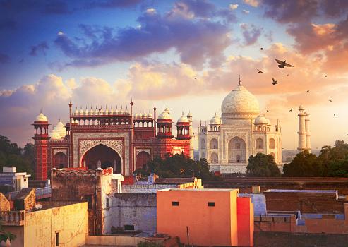 Taj Mahal「Taj Mahal in Agra」:スマホ壁紙(19)