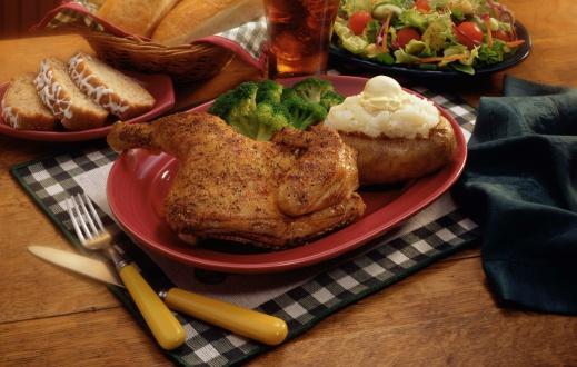 Baked Potato「Herb roasted chicken dinner」:スマホ壁紙(5)