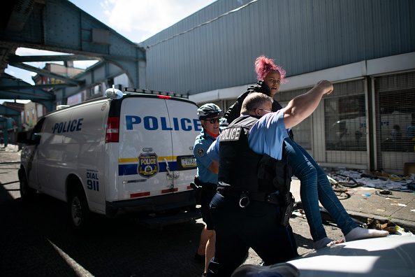 Pennsylvania「Protests Continue In Philadelphia In Response To Death Of George Floyd In Minneapolis」:写真・画像(1)[壁紙.com]