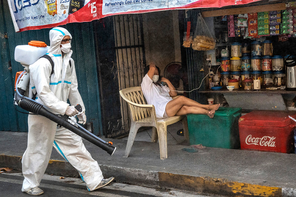 Spray「Northern Philippines Under Lockdown As The Coronavirus Continue To Spread」:写真・画像(19)[壁紙.com]