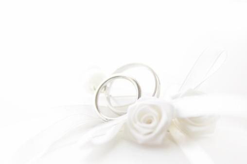 結婚「枕の上の結婚指輪、被写界深度が浅い」:スマホ壁紙(14)