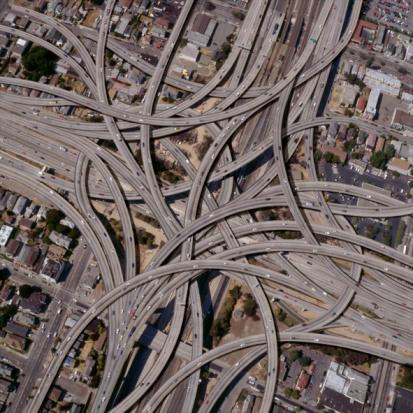 Abundance「Exaggerated complex freeway interchanges」:スマホ壁紙(19)