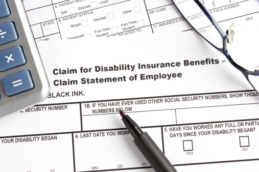 Employment And Labor「Disability insurance claim form」:スマホ壁紙(3)