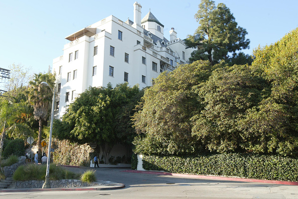 Outdoors「Chateau Marmont Hotel In Los Angeles」:写真・画像(11)[壁紙.com]