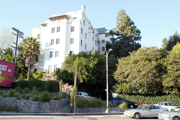 Outdoors「Chateau Marmont Hotel In Los Angeles」:写真・画像(8)[壁紙.com]