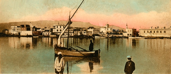Canal「Suez - View Of The Toun During High Waters」:写真・画像(17)[壁紙.com]