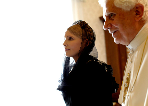 Franco Origlia「Pope Meets With Ukrainian PM Yulia Tymoshenko」:写真・画像(10)[壁紙.com]