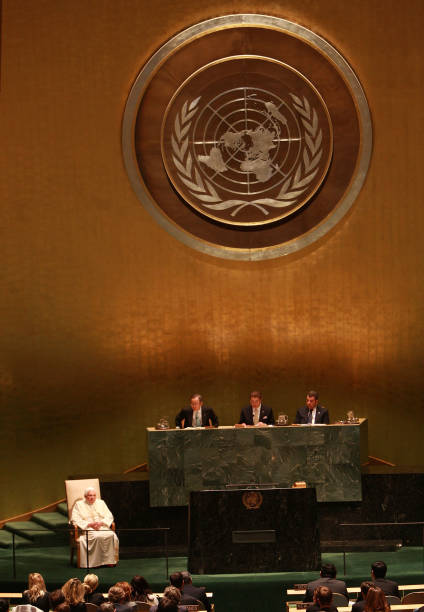 Pope Benedict XVI Visits The United Nations:ニュース(壁紙.com)