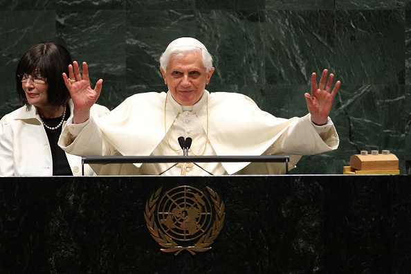 United Nations Building「Pope Benedict XVI Visits The United Nations」:写真・画像(18)[壁紙.com]