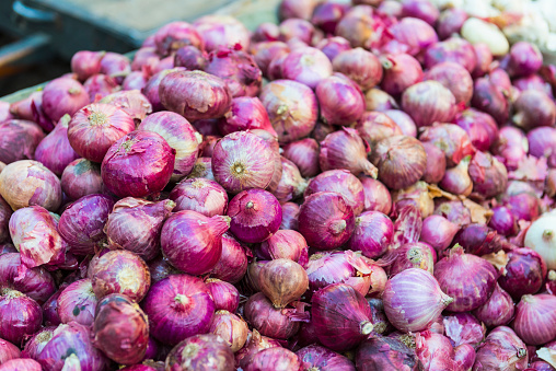 Market Stall「Onions for sale in market」:スマホ壁紙(17)