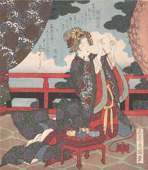 Eyesight「Lady Threading Needle On Verandah」:写真・画像(18)[壁紙.com]