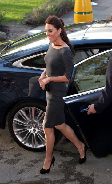 Half Up Do「The Duke And Duchess Of Cambridge Attend A Reception At The Imperial War Museum」:写真・画像(6)[壁紙.com]