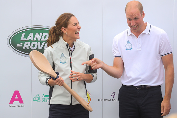 William S「The Duke And Duchess Of Cambridge Take Part In The King's Cup Regatta」:写真・画像(3)[壁紙.com]