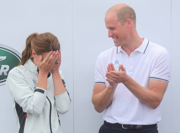 The Duke And Duchess Of Cambridge Take Part In The King's Cup Regatta:ニュース(壁紙.com)