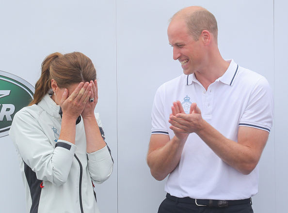William S「The Duke And Duchess Of Cambridge Take Part In The King's Cup Regatta」:写真・画像(14)[壁紙.com]
