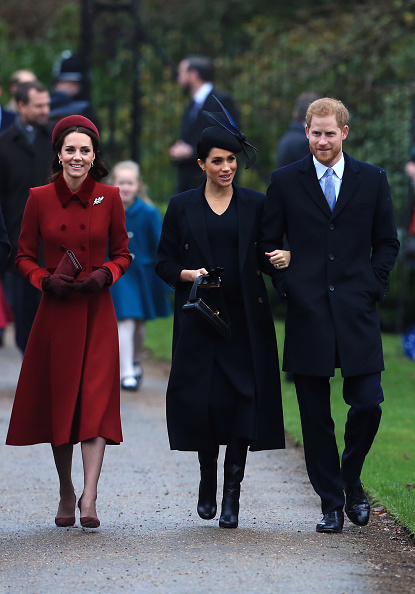 エンタメ総合「The Royal Family Attend Church On Christmas Day」:写真・画像(19)[壁紙.com]
