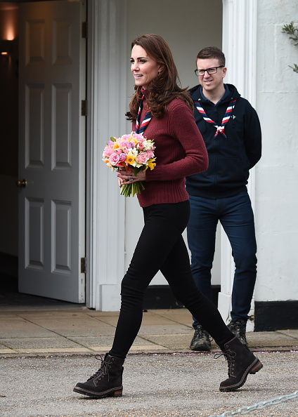 Eamonn M「The Duchess Of Cambridge Visits The Scout's Early Years Pilot At Gilwell Park」:写真・画像(1)[壁紙.com]