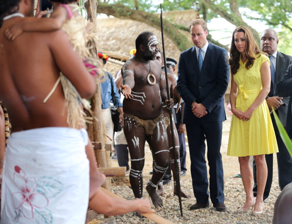 Yellow「The Duke And Duchess Of Cambridge Diamond Jubilee Tour - Day 7」:写真・画像(18)[壁紙.com]