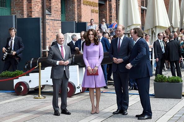 Hamburg - Germany「The Duke And Duchess Of Cambridge Visit Germany - Day 3」:写真・画像(16)[壁紙.com]