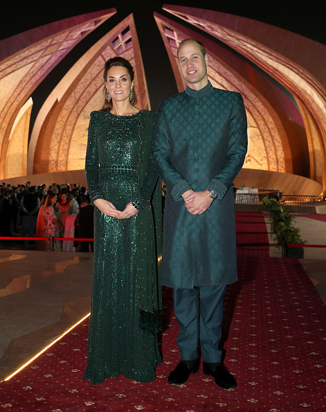 Green Color「The Duke And Duchess Of Cambridge Visit Islamabad - Day Two」:写真・画像(15)[壁紙.com]