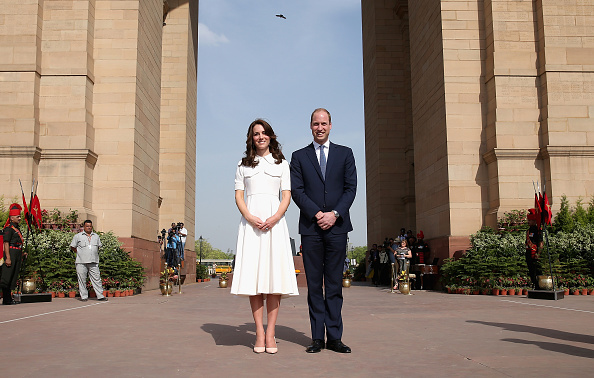Delhi「The Duke & Duchess Of Cambridge Visit India & Bhutan - Day 2」:写真・画像(7)[壁紙.com]