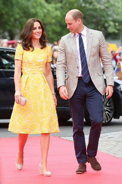 Yellow「The Duke And Duchess Of Cambridge Visit Germany - Day 2」:写真・画像(1)[壁紙.com]