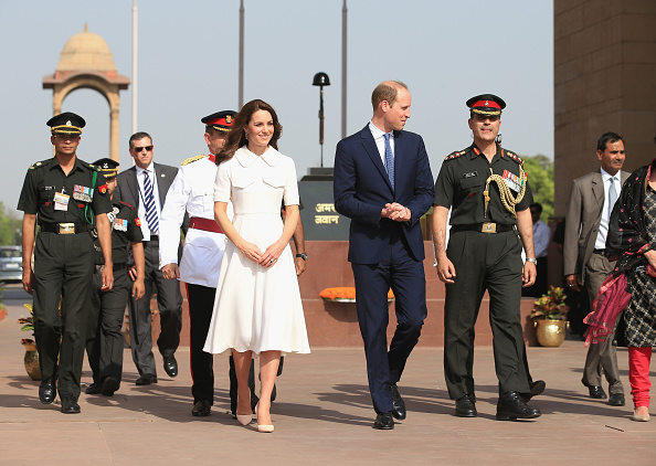 Delhi「The Duke & Duchess Of Cambridge Visit India & Bhutan - Day 2」:写真・画像(11)[壁紙.com]