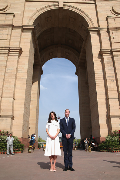 Delhi「The Duke & Duchess Of Cambridge Visit India & Bhutan - Day 2」:写真・画像(16)[壁紙.com]
