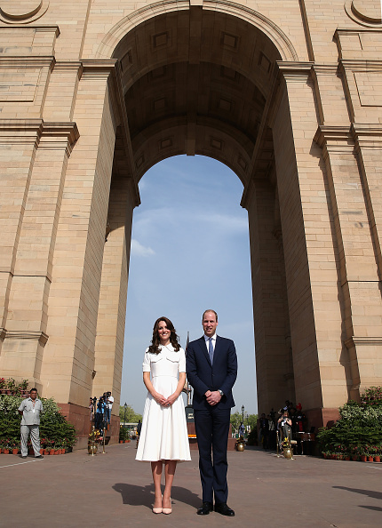 Delhi「The Duke & Duchess Of Cambridge Visit India & Bhutan - Day 2」:写真・画像(5)[壁紙.com]