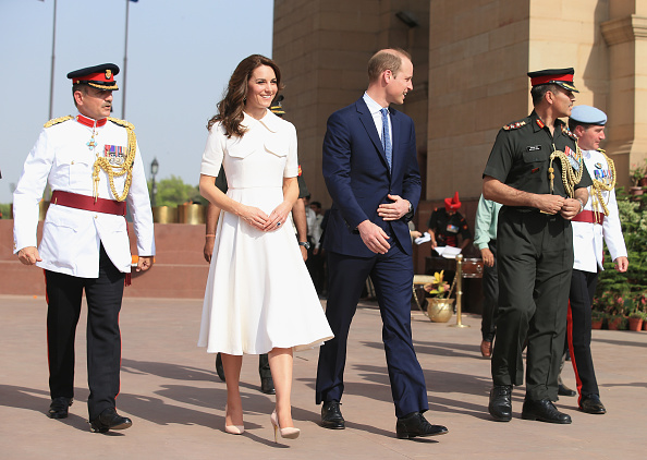 Delhi「The Duke & Duchess Of Cambridge Visit India & Bhutan - Day 2」:写真・画像(12)[壁紙.com]