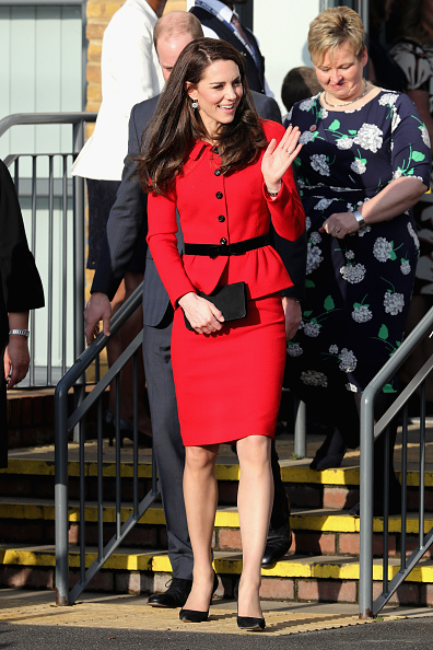Chris Weeks「The Duke & Duchess Of Cambridge Attend Place2BeBig Assembly With Heads Together For Children's Mental Health Week」:写真・画像(10)[壁紙.com]