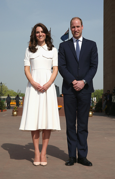 Two People「The Duke & Duchess Of Cambridge Visit India & Bhutan - Day 2」:写真・画像(18)[壁紙.com]