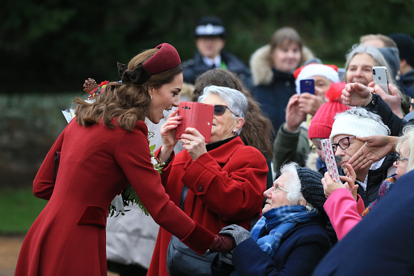 Christmas「The Royal Family Attend Church On Christmas Day」:写真・画像(18)[壁紙.com]