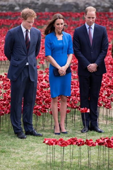 British Royalty「Duke And Duchess Of Cambridge And Prince Harry Visit Tower Of London's Ceramic Poppy Field」:写真・画像(10)[壁紙.com]
