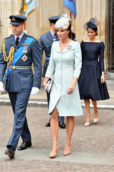 100th Anniversary「Members Of The Royal Family Attend Events To Mark The Centenary Of The RAF」:写真・画像(3)[壁紙.com]