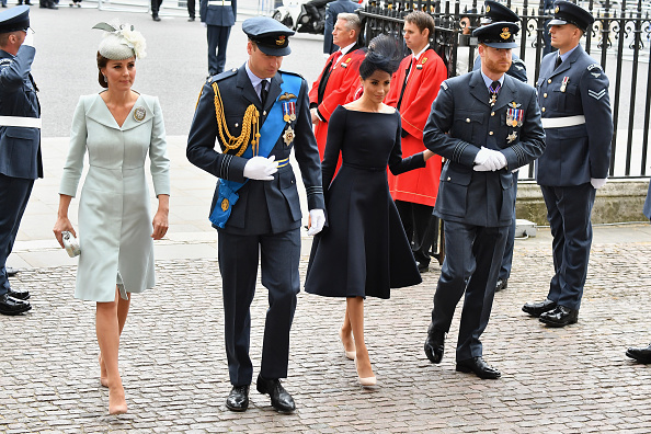 100th Anniversary「Members Of The Royal Family Attend Events To Mark The Centenary Of The RAF」:写真・画像(2)[壁紙.com]