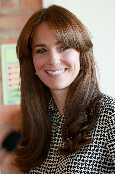 Bangs「The Duchess Of Cambridge Visits The Anna Freud Centre」:写真・画像(2)[壁紙.com]