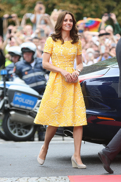 Arrival「The Duke And Duchess Of Cambridge Visit Germany - Day 2」:写真・画像(10)[壁紙.com]