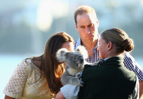 Smelling「The Duke And Duchess Of Cambridge Tour Australia And New Zealand - Day 14」:写真・画像(13)[壁紙.com]
