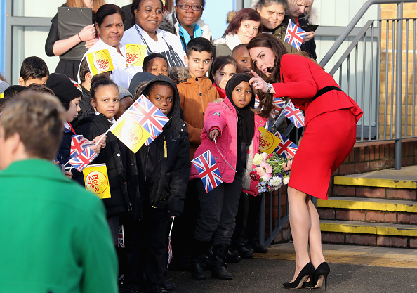 Chris Weeks「The Duke & Duchess Of Cambridge Attend Place2BeBig Assembly With Heads Together For Children's Mental Health Week」:写真・画像(18)[壁紙.com]
